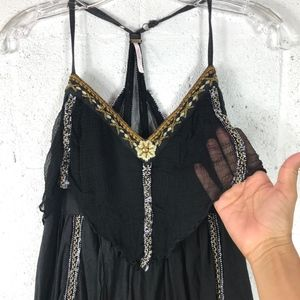 Free People Dresses - Free People Dress, Lagenlook, Embroidered. Size: S
